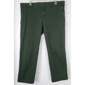 Kut from the kloth crop trouser pants size 16
